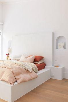 Home Interior Design House 10 Master Suite Bedroom. Master Suite Bedroom, Home Bedroom, Modern Bedroom, Bedroom Decor, Linen Bedroom, Linen Bedding, Bedroom Furniture, Furniture Makeover, Furniture Design