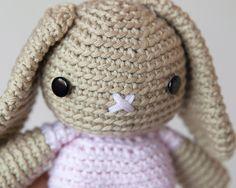 Free Crochet Bunny Pattern 1