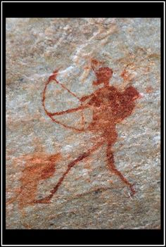 Rock Art, The Sevilla Rock Art Trail, Clanwilliam, Northern Cape, South Africa