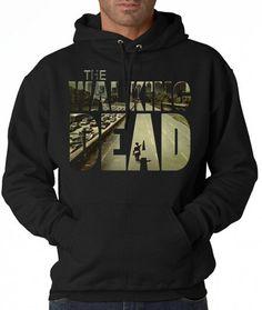 Hoodie the walking dead street  Hoodie Girl Awesome by UltraTshirt, $15.20