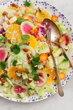 Fennel & Clementine Chopped Salad.