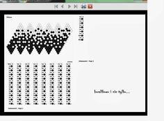 Poproszono mnie o przybliżenie działania programiku do projektowania szydełkowych kulek, tak więc proszę bardzo:) Posiedziałam, podumałam,...
