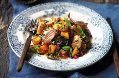Roast Butternut and Haloumi Salad #FLMInspires #FoodLoversMarket #FLMRecipes