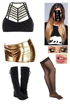 Diva Match On Smackdown Against Paige While AJ Lee Comes Out To Try And Play Mind Games by alyssaclair-winchester on Polyvore featuring sass & bide, Emilio Cavallini and WWE