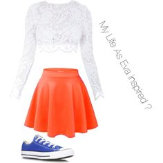 My Life As Eva Inspired by senck on Polyvore featuring polyvore, fashion, style, Stone_Cold_Fox and Converse