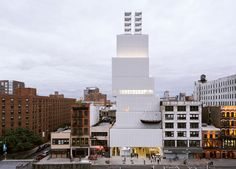 new museum: OMA to expand SANAA-designed institution in new york www.designboom.com