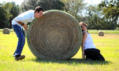 this is such a cute pic :) perfect for a nebraska girl...i dont think i'll find many hay barrels in alabama though