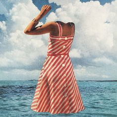 """Future Islands — Singles (Cover) Baltimore-based synthpop group Future Islands released fourth album Singles with spring-ready artwork. Image: Future Islands (Marshable """"15 visually stunning album covers of 2014"""")"""