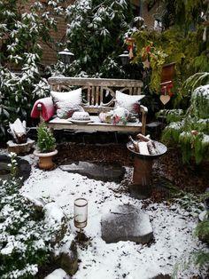 ❄❄Mit Etwas Schnee Sieht Die Deko Im Vorgarten Auch Super Weihnachtlich  Aus.❄