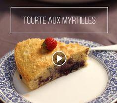 Marmiton Tourte aux myrtilles French Toast, Pancakes, Breakfast, Food, Blueberry Buckle Cake, Recipe Videos, Morning Coffee, Essen, Pancake
