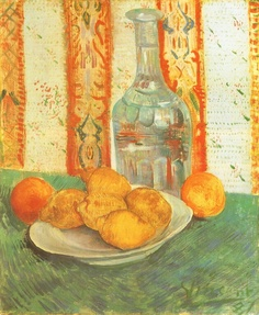 Van Goghs Oranges Still Life