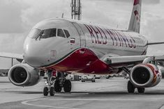 Sukhoi Superjet 100, Boeing Aircraft, Aviation, The 100, Wings, Airplanes, Moscow, Red, Commercial