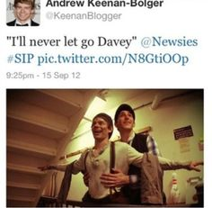 BAHAHAHAHAHAHAHA. Titanic. Newsies. I'll never let go Davey/Jack