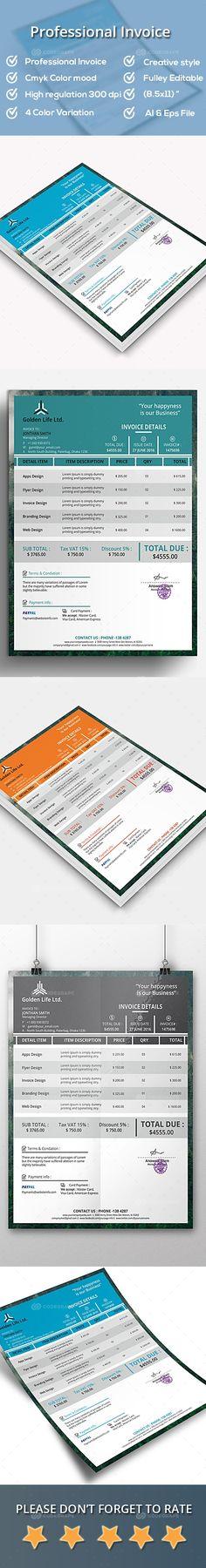 Free Invoice Maker - Invoice Generator - Invoice Creator Invoice - easy invoice maker