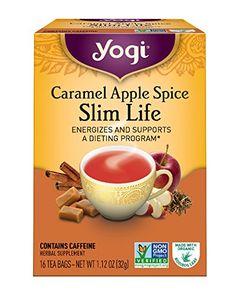 Yogi Tea, Caramel Apple Spice Slim Life, 16 Count, Packaging May Vary #weightloss