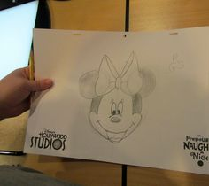 Minnie Mouse at Animation Academy in Hollywood Studios (Mouse on the Mind)