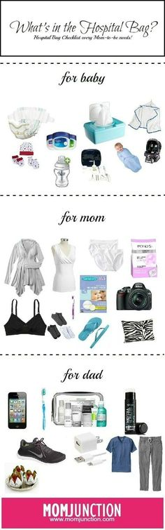 what to pack in your bag to make your hospital stay a breeze! Here is the checklist for hospital bag for delivery, things what I think you should really need! #Pregnancy