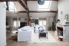 Home Tour: Harmony in a Rustic French Home - decor8