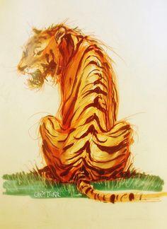 Tiger by Chris Dicker
