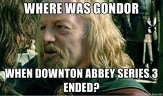 That awkward moment when a pin is perfect both for LOTR and Downton Abbey boards...
