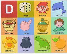The teacher and his PT class: Phonological awareness Preschool Spanish, Preschool At Home, Learning Spanish, Spanish Activities, Bilingual Classroom, Bilingual Education, Alphabet Activities, Literacy Activities, Dora