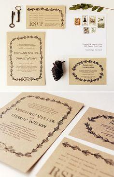 Libre para imprimir rústico privado y papelería invitación de la boda   mejor día