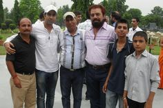 Ajay Sahota with Binnu Dillon, B N Sharma, Bhangu phalere wala, Uvinder and shivam