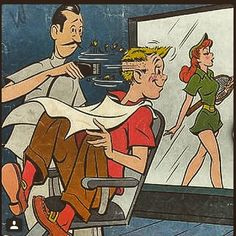 old Archie comic book, not sure of the date, however