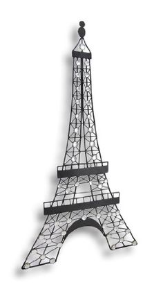 Black Metal Eiffel Tower Wall Decor With Gemstones    Love This For My  Daughteru0027s Paris Themed Dorm Room | Wrought Iron/metal Decor | Pinterest |  Black ...