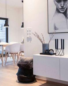 Interior In Weiß   Skandinavisch