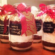 cookies, μπισκότα , μπισκότα σε βάζο, cookies in a jar, δώρο , diy gift