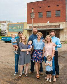 """It is amazing the kind of life you can live in Mississippi"" By BECKY GILLETTE Three Laurel couples, including one whose HGTV Home Town pilot on renovating historic homes in Laurel had m… New Business Plan, College Roommate, Roommates, Hattiesburg Mississippi, Home Town Hgtv, Erin Napier, Hgtv Shows, Historic Homes, American Made"