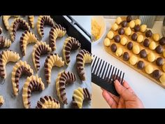 حلويات العيد* 2020 *📣حلوة 4 ملاعق حلوى سهله وسريعة بدون خميرة ولا طابع - YouTube Arabic Dessert, Arabic Food, Rose Cookies, Cake Recipes, Dessert Recipes, Breakfast Pastries, Fudge Brownies, Fun Desserts, Deserts