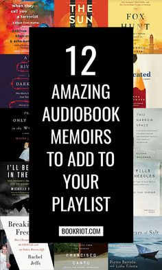 12 Amazing Audiobook Memoirs to Add to Your Playlist