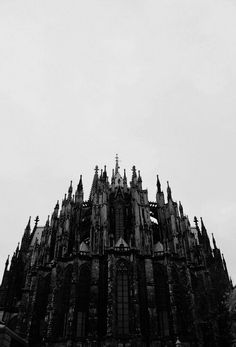 Black and White goth medieval gothic cathedral Gothic Cathedral gothic church Gothic Aesthetic, Slytherin Aesthetic, Aesthetic Black, Aesthetic Photo, Die Renaissance, Gothic Cathedral, Monteverde, Gothic Architecture, Ancient Architecture