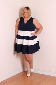 Skorch Magazine Editor Jessica Kane Launches New Plus Size Collection With Cool Gal Blue For sizes 16-32