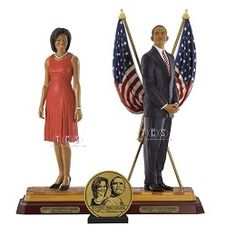 Ebony Visions-Barack Obama Presidential Edition And First Lady Michelle Obama Hand Signed
