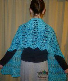 Stop and Stare Crochet Shawl | AllFreeCrochet.com