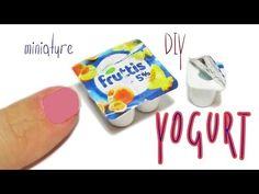 DIY miniature Yogurt - Really Desserts - YouTube