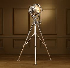 This incredible floor lamp is brought to you by Restoration Hardware on South Granville and Robin daydreaming about what her living room could look like if she married into money.