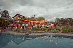 Poolside--California Outdoor Wedding