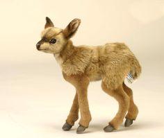 Amazon.com: Hansa Tibetan Deer (Bushback Kid) Stuffed Plush Animal, Standing - Small: Toys & Games