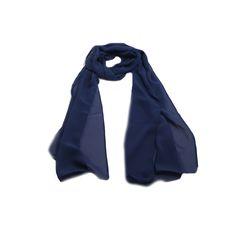 Echarpe Azul Marinho #echarpe #echarpes #lenços #lenço #scarf #scarfs
