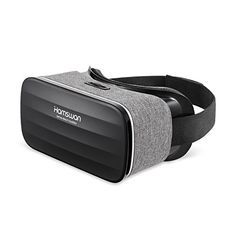 VR Headset, HAMSWAN VR Glasses Virtual Reality Headset for Movies and Games - Light Weight VR Goggles Compatible with iOS, Android and Other Phones within Inch Samsung Galaxy S5, Iphone, Vr Games, Virtual Reality Headset, Android, Vr Headset, Film, Abs, Glasses
