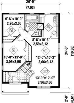Plan 80376PM: Economical Split Level Home Plan