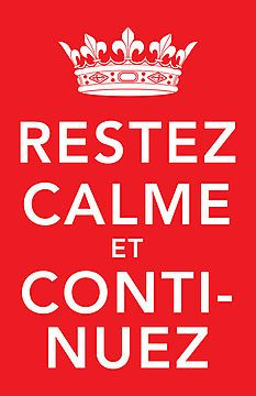 Learn French Videos Tips Student Love French, French Class, French Lessons, Learn French, Keep Calm Carry On, Stay Calm, Message Positif, Jolie Phrase, School Displays