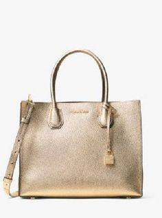 1af2dc6abcc3 Trendy Women's Bags : Picture Description Mercer Large Convertible Tote Bag  by MICHAEL Michael Kors. Rolled top handles with hanging logo padlock, drop.