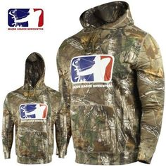 Major-League-Bowhunter-Hoodie-Hooded-Sweatshirt-Realtree-Xtra-Camo-Size-XL-NEW