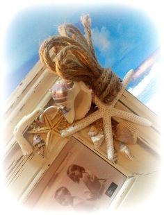 seashell picture frames on pinterest seashell frame