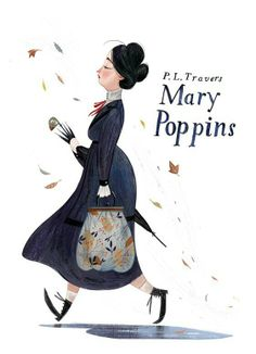Mary Poppins, illustration by Júlia Sardà Art And Illustration, Illustration Inspiration, Gravure Illustration, Illustrations Posters, Mary Poppins, Disney Drawings, Concept Art, Artsy, Artwork